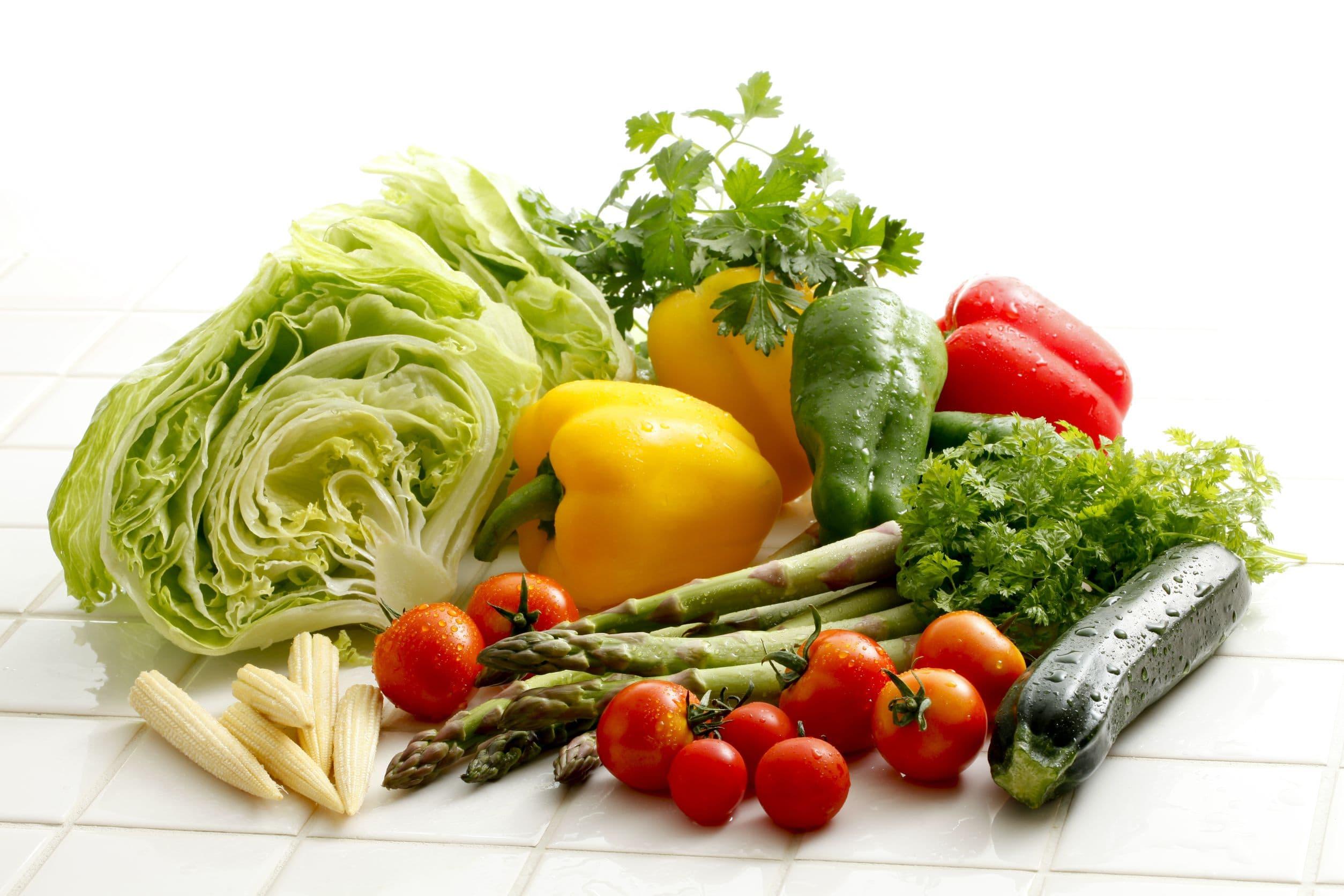 低カロリー高タンパク質野菜