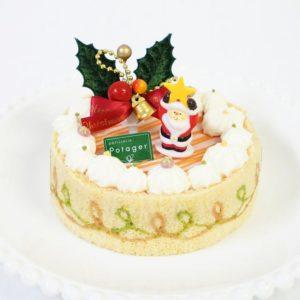 パティスリーポタジエクリスマスケーキ2017