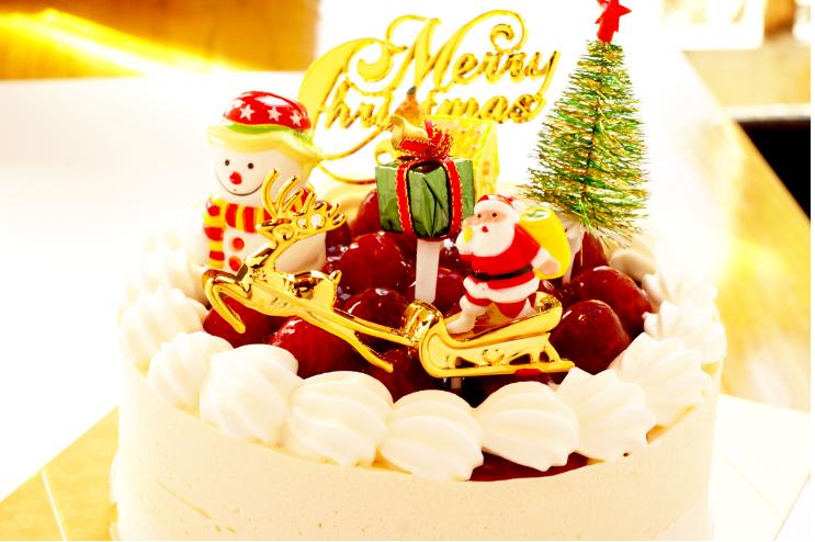 ヘルシ屋クリスマスケーキ2016