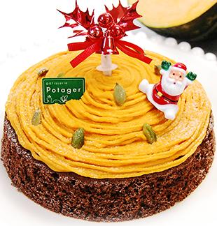 ポタジエクリスマスケーキ2016