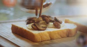ごちそうホットサンドー食パン・マッシュルーム
