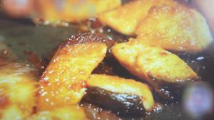 ブリ玉丼ー片栗粉2