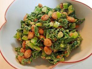 大根の葉とドライ納豆の和え物楽天レシピ