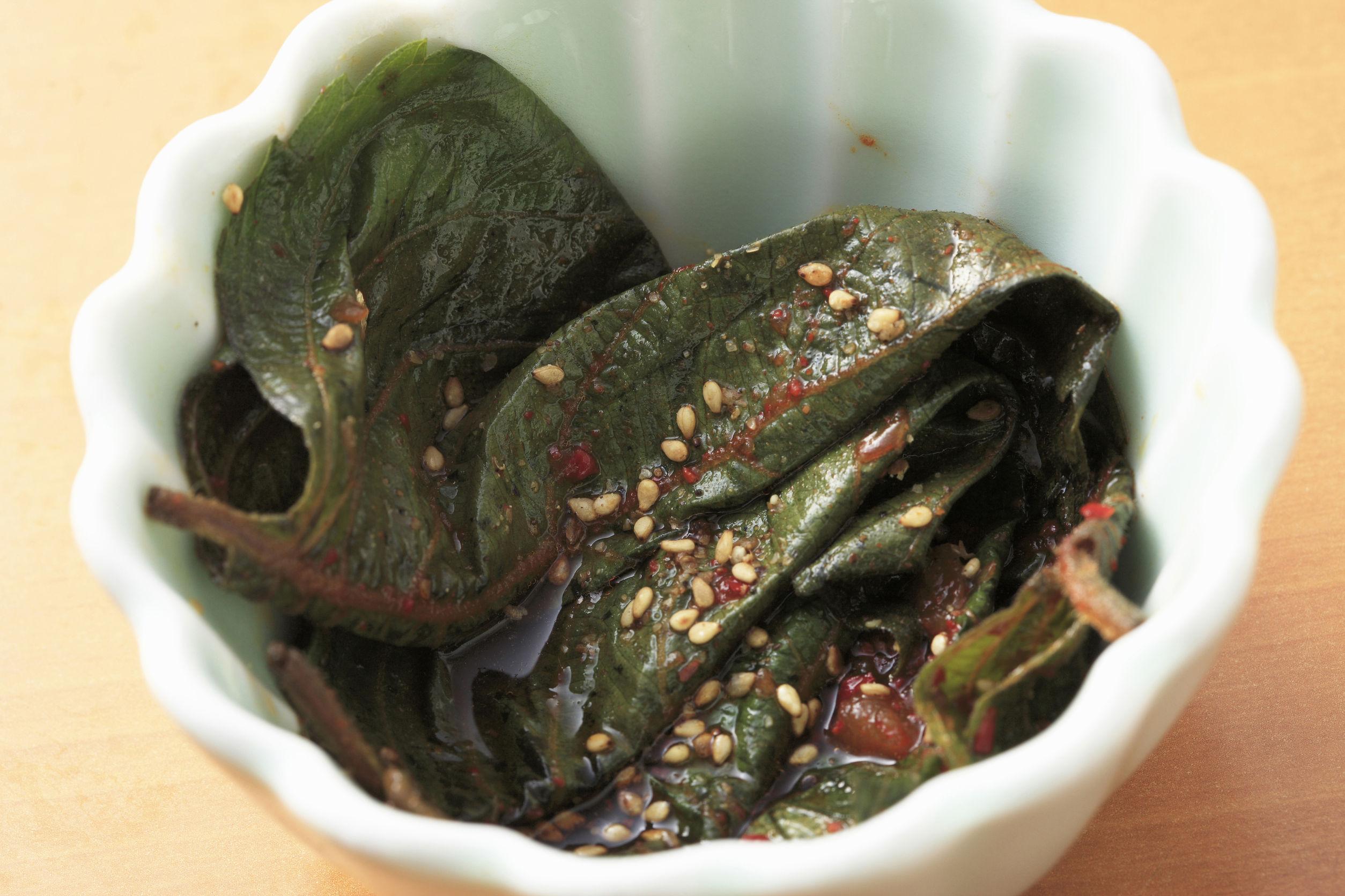えごまの葉レシピ