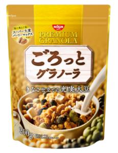 ごろっとグラノーラ きなこ仕立ての充実大豆